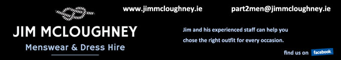 Jim McLoughney Menswear & Dress Hire
