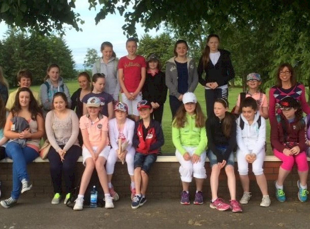 Junior Girls at Irish Open2014