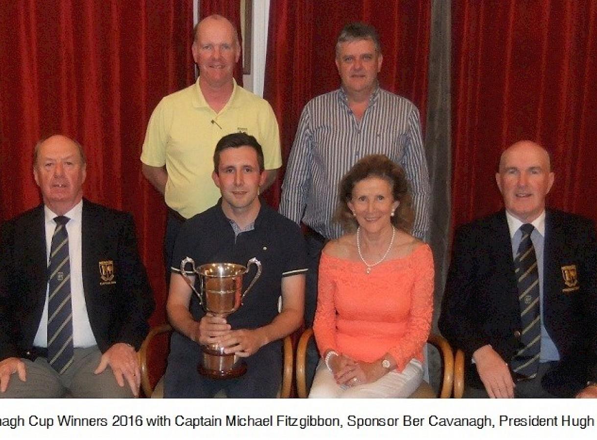Prize Winners Cavanagh Cup 2016