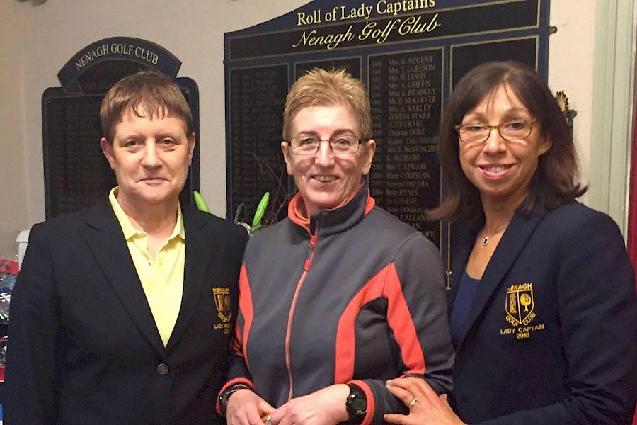 Ladies Prize Giving January & February 2018