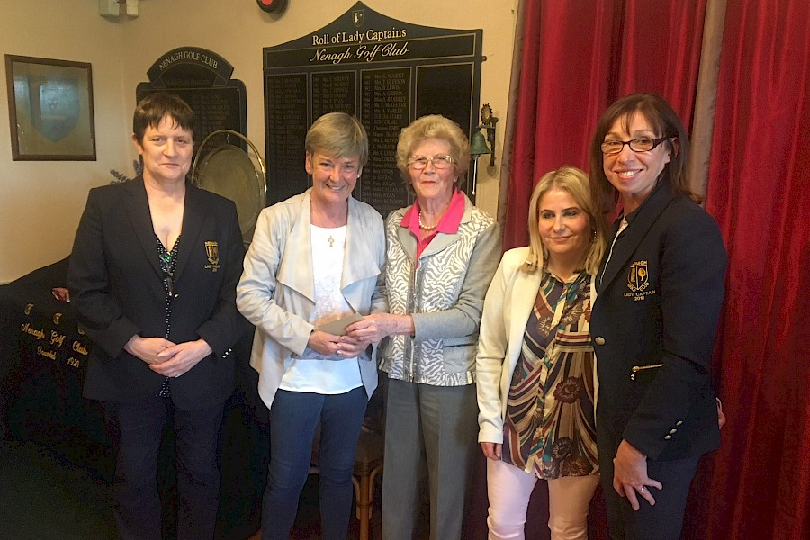 Ladies Prize Giving June 2018