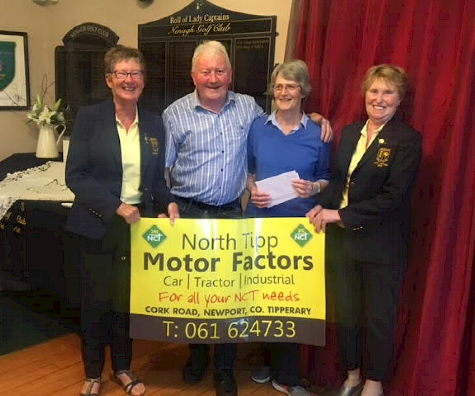 North Tipp Motor Factors Sponsorship