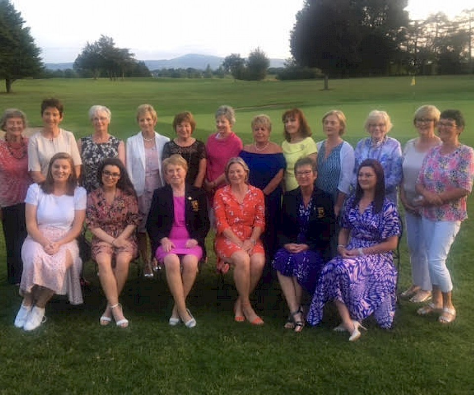 Lady Captains Day prizewinners 2019